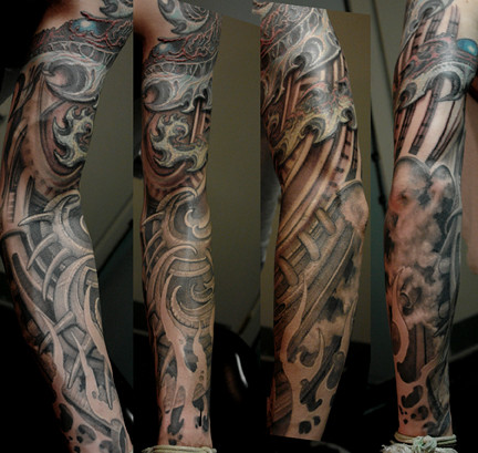 Tattoos on Adler Art Tattoo
