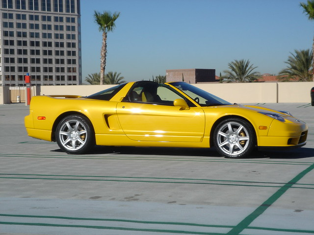2004 acura nsx yellow flickr photo sharing. Black Bedroom Furniture Sets. Home Design Ideas