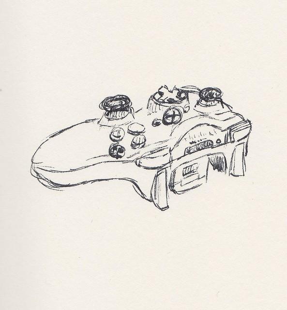 xbox 360 controller sketch - photo #40