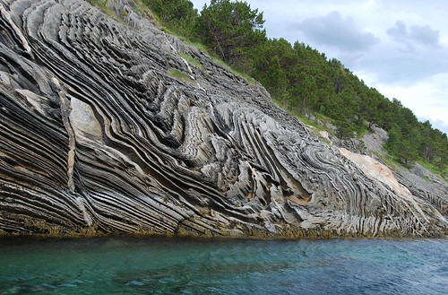 Norwegian rock formation