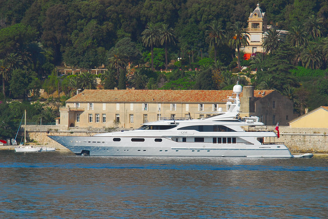 ... as Queen M. She is the second yacht in the so-called Golden Bay series.