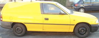 Astra/Bedford Van