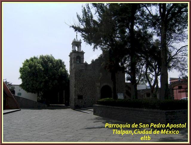 Parroquia San Pedro de Verona Mártir,Tlalpan,Ciudad de México