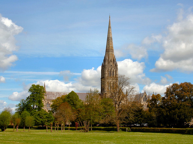 Salisbury Cathedral.