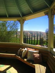 Gazebo Overlooking the Orange Groves of San Timoteo Canyon