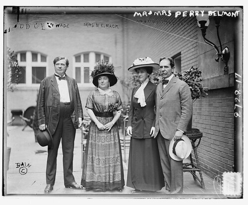 Judge Wade, Mrs. Mack, Mr. & Mrs. Perry Belmont (LOC)