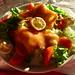 Small photo of Assiette de salade au saumon