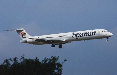 Spanair McDonnell Douglas MD-82