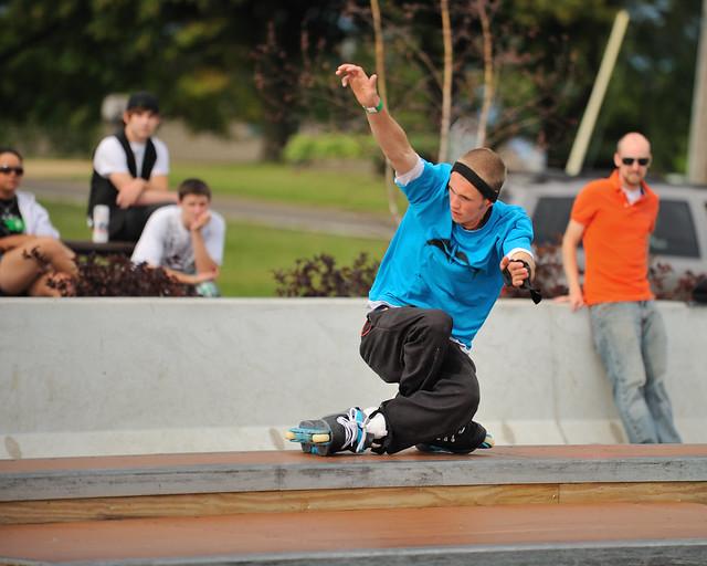 Cherry Park Skatepark Long Beach Ca