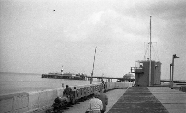 Margate Jetty and pier with miniature railway c1960's