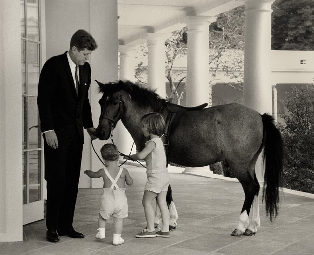 ... Kennedy Kids Kept Ponies at the White House! | Flickr - Photo Sharing