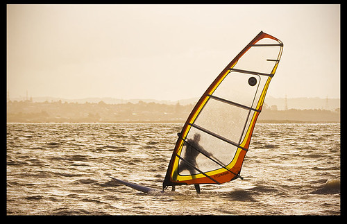 wind surfer!