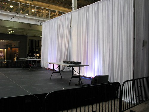 12 foot pipe and drape rental, back drop Rental www.ShopStudios.com 212-245-6154