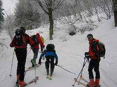 ski cross(0.0), nordic skiing(0.0), snowshoe(1.0), ski equipment(1.0), winter sport(1.0), footwear(1.0), nordic combined(1.0), winter(1.0), ski(1.0), skiing(1.0), piste(1.0), sports(1.0), snow(1.0), ski touring(1.0), ski mountaineering(1.0), cross-country skiing(1.0), telemark skiing(1.0),