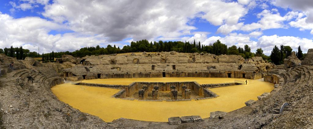 Vista panorámica del Anfiteatro