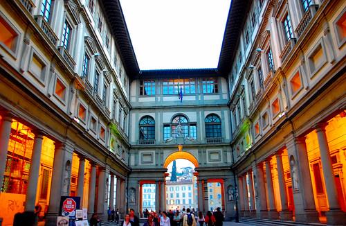 Uffizi - Florence, Italy