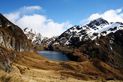 Lake Harris, Routeburn Track