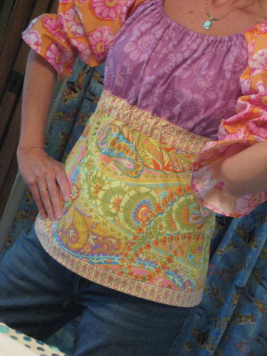 "FlossieBlossom - from Lila Tueller's ""Funked Out Peasant Blouse"" pattern"