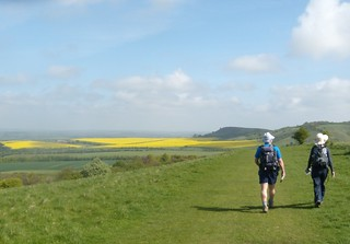 Towards Ivinghoe Beacon