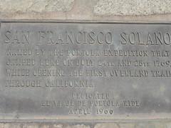 Portola expedition marker