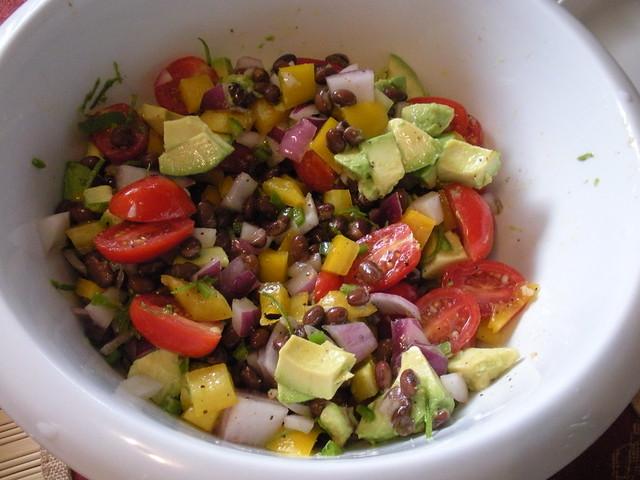 Guacamole salad | Flickr - Photo Sharing!
