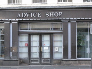 Advice Shop in Edinburgh, Scotland