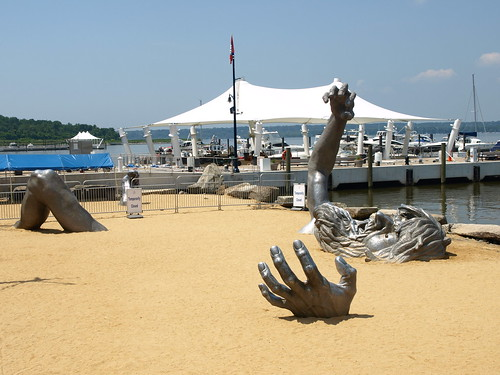 The awakening s new home is lacking william f yurasko for Awakening sculpture national harbor