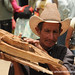 Man Carrying Wood - La Esperanza, Honduras