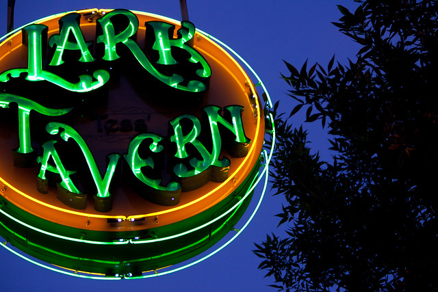 Lark Tavern Sign - Albany, NY - 09, Jul - 10