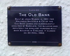 Photo of John Wilson blue plaque