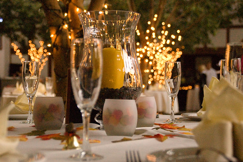 Decoration Table Reception Mariage