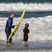 Father & Son.....learning to surf