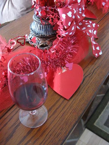 Le vin à coeur