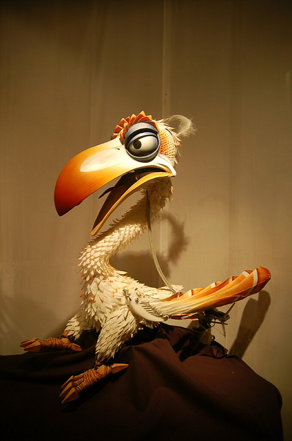zazu puppet from lion king flickr photo sharing