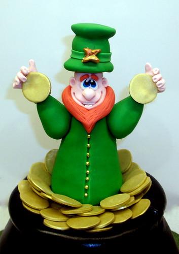 Leprechaun Cake Closeup