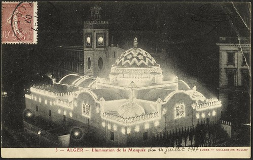 The Djemaa-Djedid Mosque Illuminated (GRI)