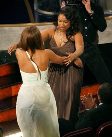 Jennifer Hudson & Beyonce
