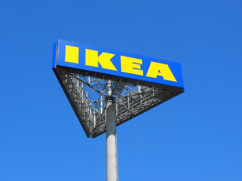 Image of an Ikea sign