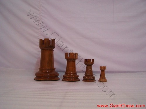 Teak Wood Pieces ~ Big chess pieces teak wood product