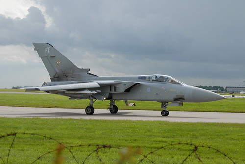 ZE158/FF Tornado F3 Royal Air Force