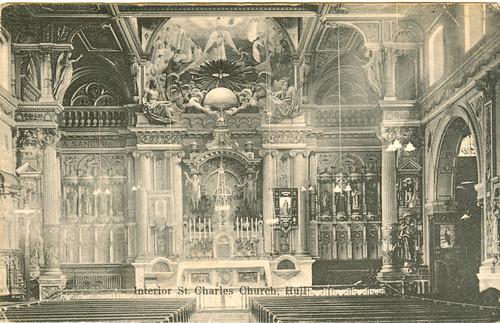 Postcard: St Charles Church Hull - Date Unknown