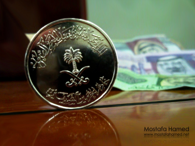 Saudi Arabia100 Coins http://www.flickr.com/photos/mostafahamed/3559504264/