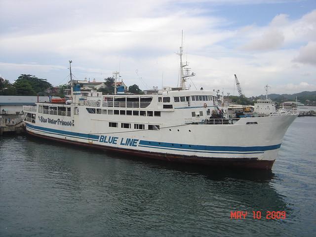 Blue Water Princes 2. Blue Magic Feries Blue Line Shipping.