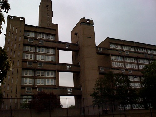 Brownfield estate, poplar