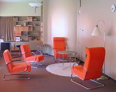 Huis Sonneveld, furniture Gispen?