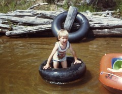 Daniel in the lake
