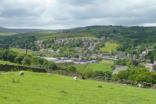 View from Cemetery Road, Holmfirth