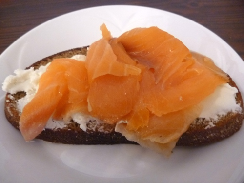Smoked salmon in Estonia