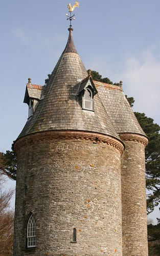 Trelissick Water Tower by Claire Stocker (Stocker Images)