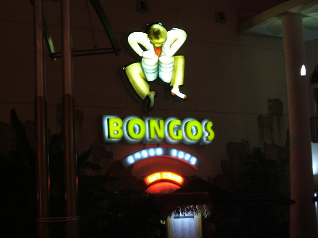 Bongos Cafe Downtown Disney